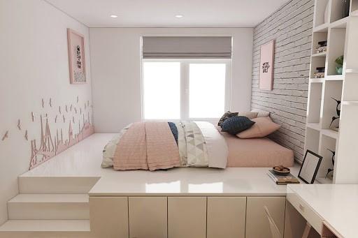 Lựa chọn nội thất phù hợp cho phòng ngủ diện tích nhỏ