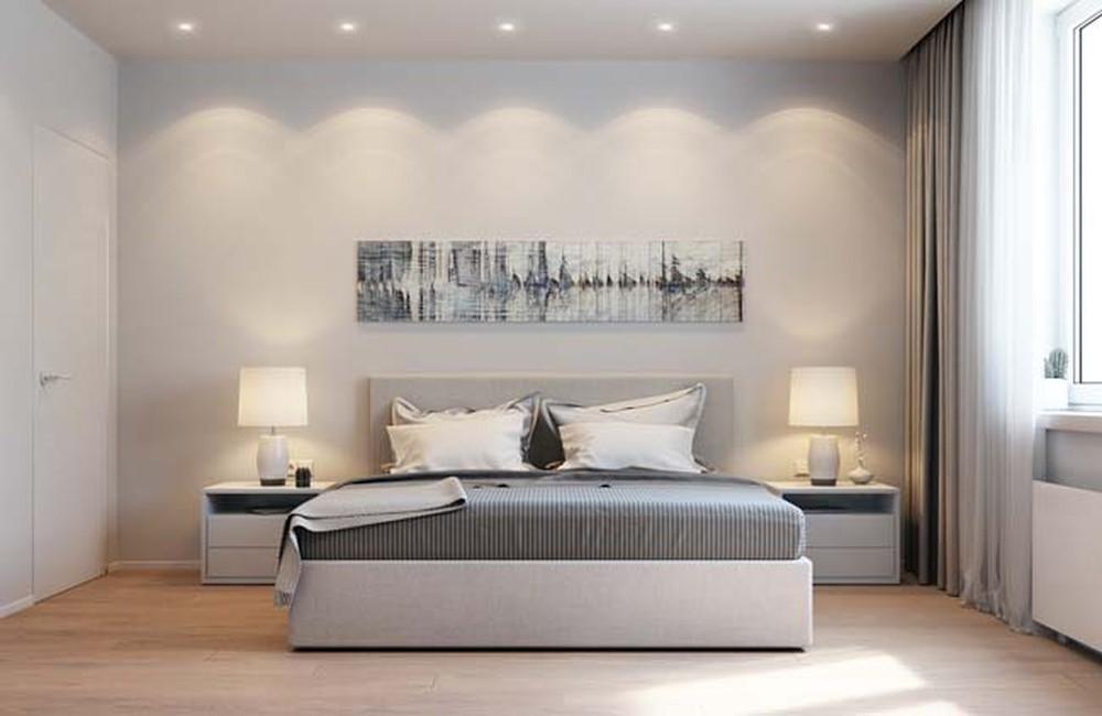 Thiết kế phòng ngủ tối giản với những vật dụng cần thiết