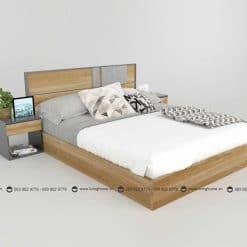 Giường ngủ gỗ công nghiệp phủ Melamine BD-M-20-21 New 2020