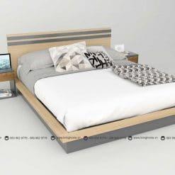 Giường ngủ gỗ công nghiệp phủ Melamine BD-M-20-25 New 2020