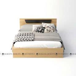 Giường ngủ gỗ công nghiệp phủ Melamine BD-M-20-27 New 2020