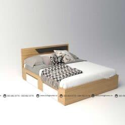 Giường ngủ gỗ công nghiệp phủ Melamine BD-M-20-28 New 2020
