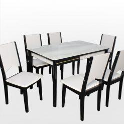 Bộ bàn ăn mặt đá 6 ghế