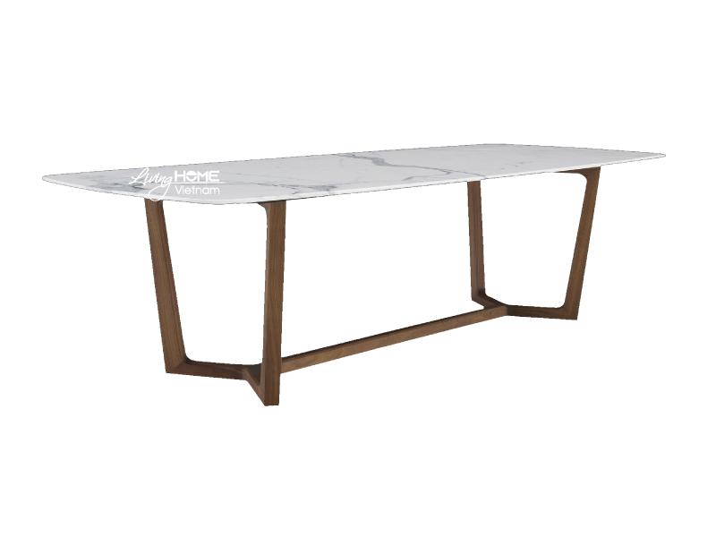 bàn ăn concorde mặt đá