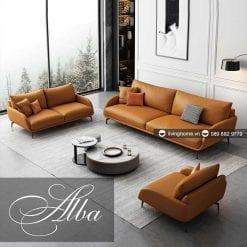 sofa băng alba