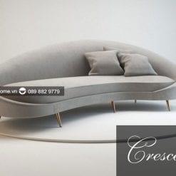 sofa băng crescent