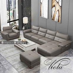 sofa góc L viola