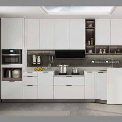 Tủ bếp chữ L đương đại LVH-KC-L-Alps